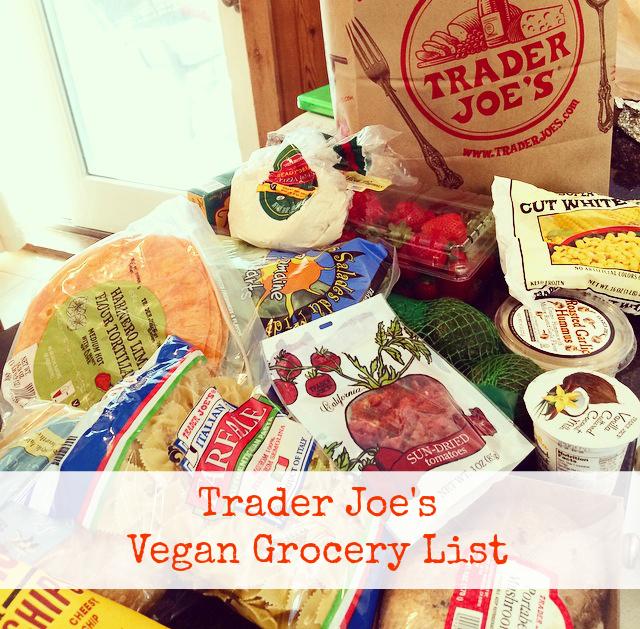 Best vegan options at trader joe's