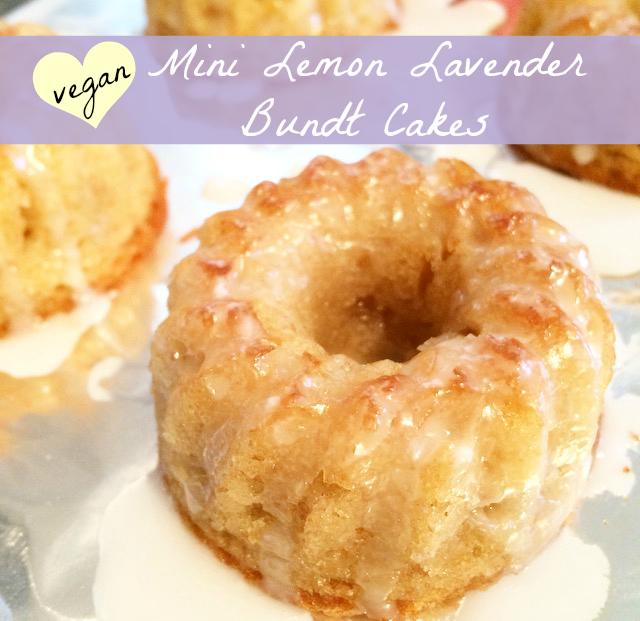 Carrot Cake Mini Bundt Cakes
