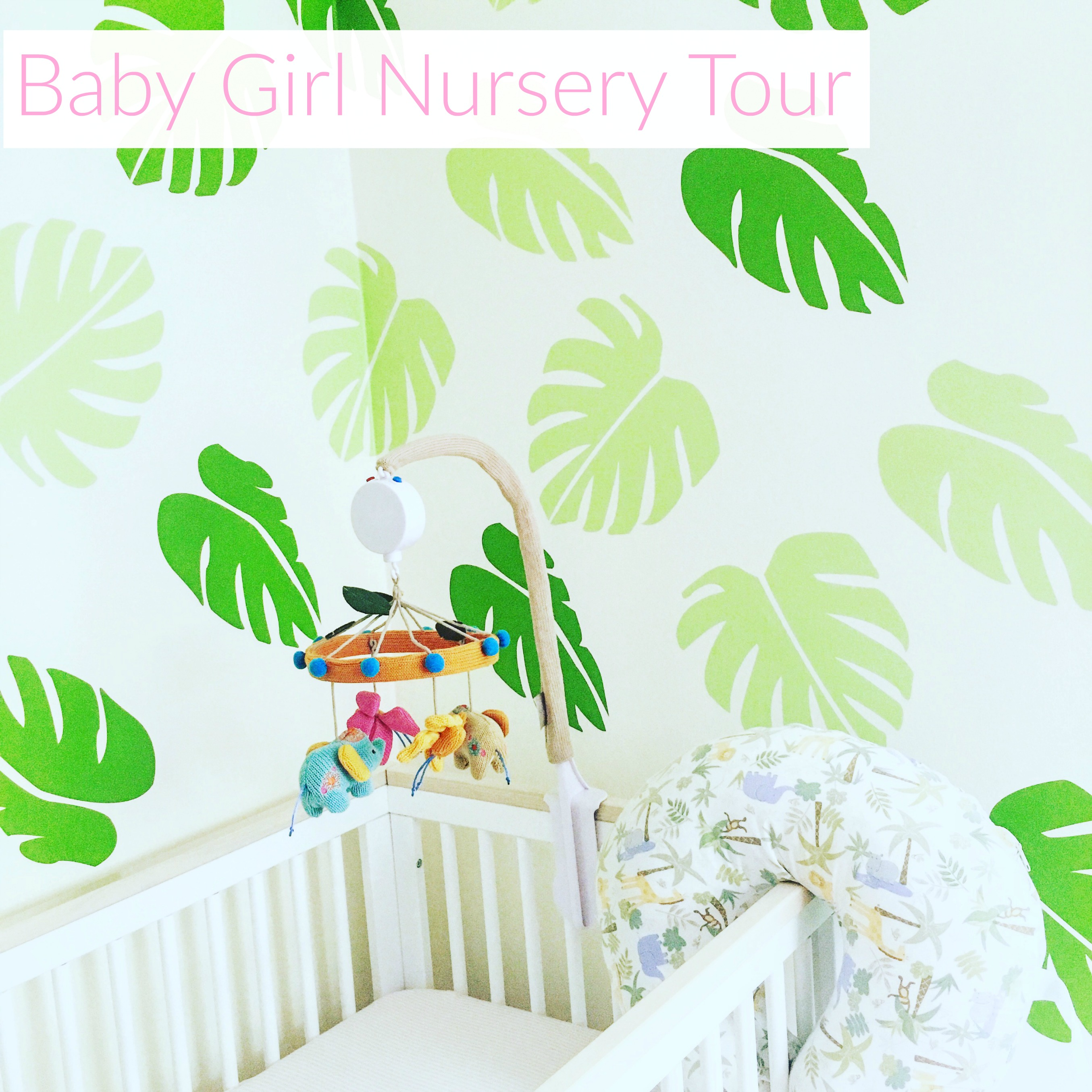 Baby Boy Nursery Tour: Baby Girl Jungle Nursery Tour